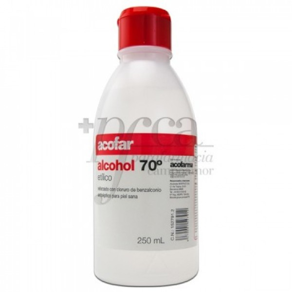 ALCOHOL 70º ACOFAR 250ML