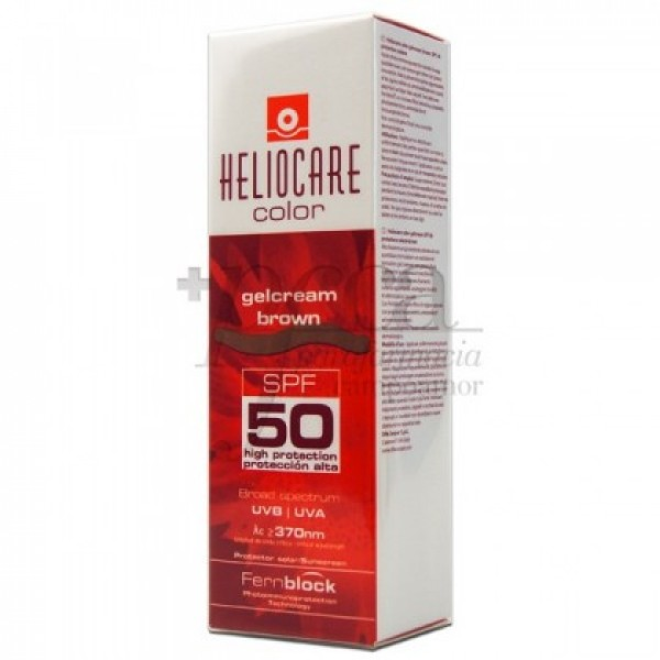HELIOCARE COLOR GELCREMA BROWN 50 ML