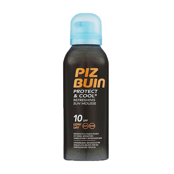 Piz buin protect & cool refreshing sun mousse spf10 150ml