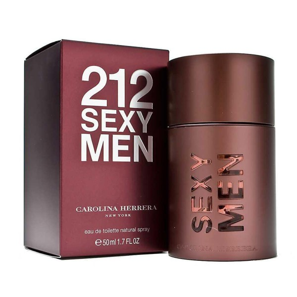 Carolina herrera 212 sexy men eau de toilette 50ml vaporizador