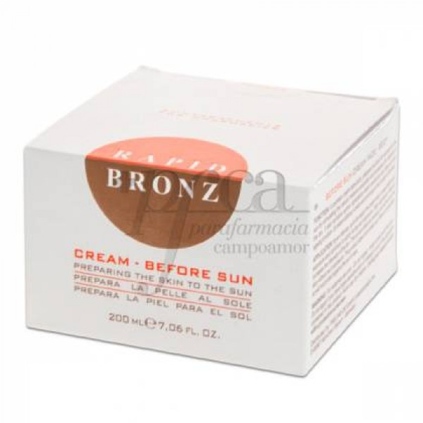 RAPID BRONZ BEFORE SUN CREMA CARA Y CUERPO 200ML