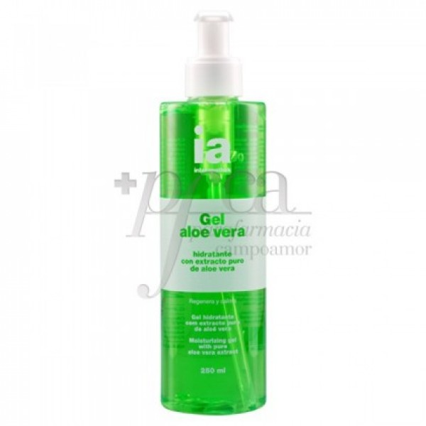 INTERAPOTHEK GEL ALOE VERA PURO 250ML