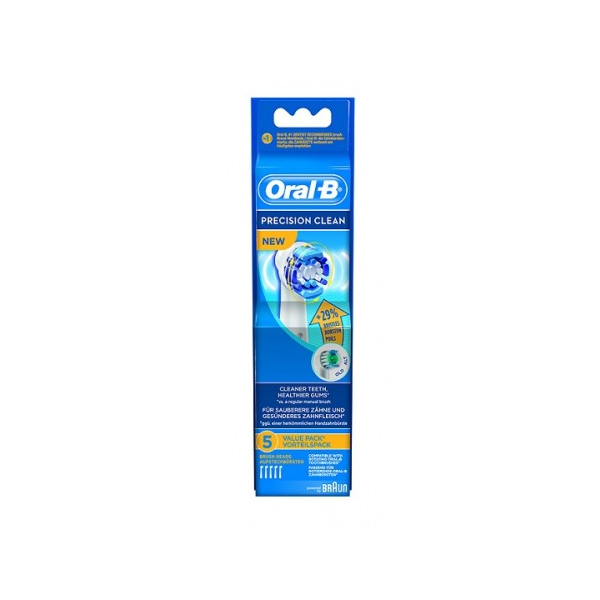 ORAL-B RECAMBIO CEPILLO PRECISION CLEAN 5 UDS