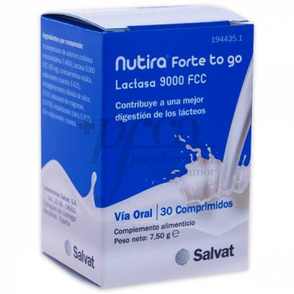 NUTIRA FORTE TO GO 30 COMPS