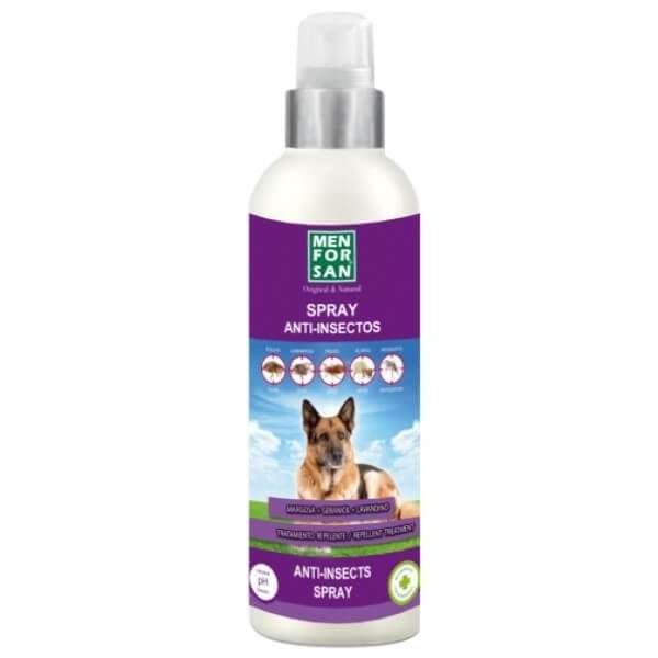 MEN FOR SAN SPRAY ANTI-INSECTOS PARA GATOS 250ML