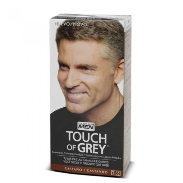 JUST FOR MEN TOUCH OF GREY CASTAÑO T-35
