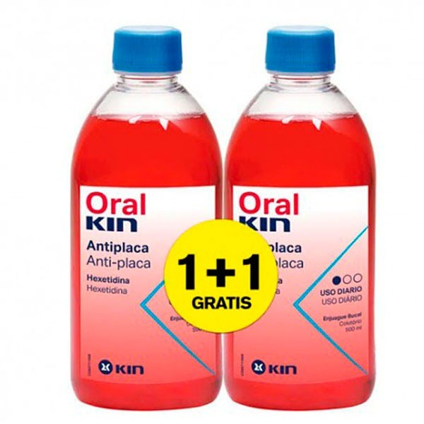 ORALKIN ENJUAGUE 2X 500ML PROMO